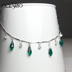Beautiful drop anklet