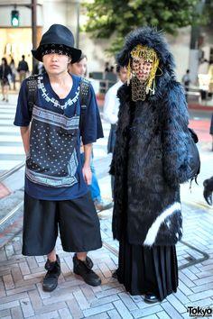 Tokyo Guys in Japanese Streetwear