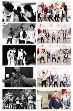 The dances then and now<3