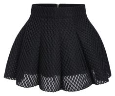 """Mesh skirt"" by debbie-grajeda on Polyvore featuring moda"