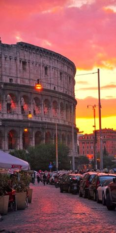 Colosseum__Rome sunset..