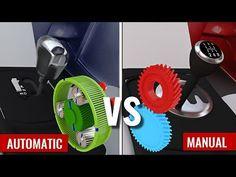 Automatic vs Manual Transmission - YouTube