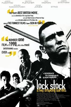 √ Lock, stock and two smoking barrels  - Poster