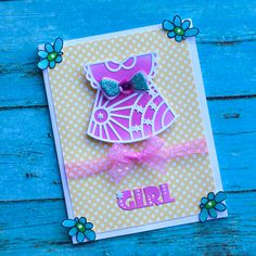 Lovely Girl's Skirt Dies #Die Cuting Cards Brand Names, Card Making, Scrapbook, Skirts, Stamps, Cards, How To Make, Diy, Bricolage