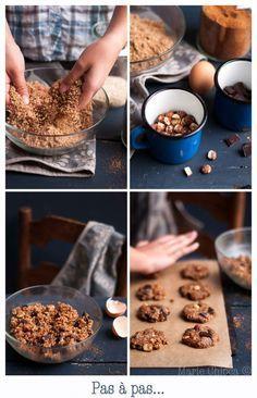 Cookies pralinés au son d'avoine, à IG très bas!
