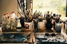 #paint #paintbrushes #art