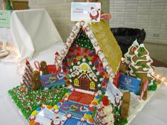 An entry from last year's Gingerbread Festival