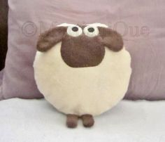 Giorgio the Sheep Pillow by MartianiQue on Etsy
