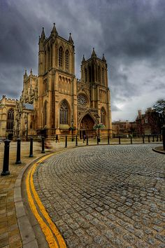 """...Holy and Undivided..."" - Wow! that is exciting - unfailing strength! Think Ecclesiastes 4:12.  That is how we are united with Christ!  ✮ The Cathedral Church of the Holy and Undivided Trinity is the Church of England cathedral in the city of Bristol, England"