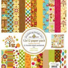 Happy Harvest - Paper Pack 12 x 12