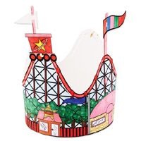 Preschool or Early Elem. Craft: Roller Coaster Hat.