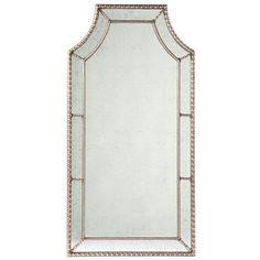 Lillian August, Wall Mirror, Silver, Antique mirror – Benjamin Rugs & Furniture