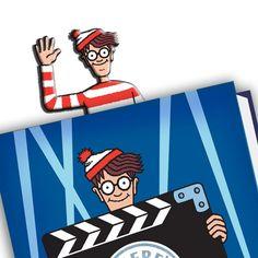 Where's Wally? Wheres Wally, Cool Books, Time Travel, Red And White, Give It To Me, Drawings, Art, Products, Art Background