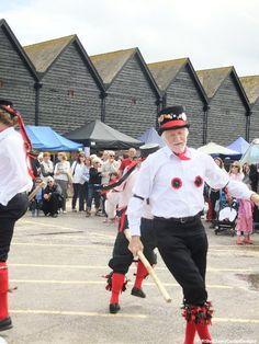 Morris Dancers, Whitstable Oyster Festival.
