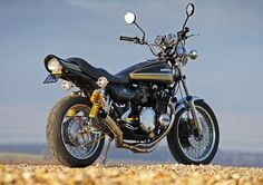 Kawasaki Z1A special restored and upgraded by Paul Brace