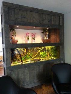 Great home made aquarium stand.