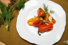 Marinated Mini Bell peppers, step by step photo recipe