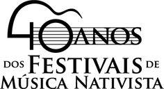 """Identidade visual do memorial itinerante """"40 anos dos Festivais de Música Nativista""""."""