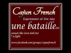 Cajun French - Daily Cards - Part 2 - YouTube
