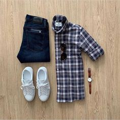 Casual Friday vibes with Featured is the Culver Shirt from their new Fall/Winter collection. Please rate this outfit be. Mens Attire, Mens Suits, High Fashion Men, Mens Fashion, Stylish Men, Men Casual, Smart Casual, Fashion Infographic, Formal Men Outfit