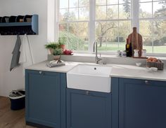 New Villeroy & Boch Farmhouse Sinks,  Now standard with CeramicPlus finish making them easier to care for!