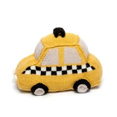 TAXI stuffed toy. perfect for the New York baby.