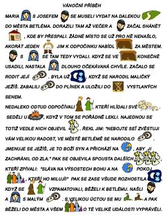 čtení - Hledat Googlem Christmas Activities For Kids, Preschool Christmas, Crafts For Kids, Christmas Time, Christmas Cards, School Humor, Bible Lessons, Teaching Tips, Holidays And Events