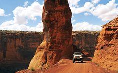 Off roading in Moab, Utah #jeep