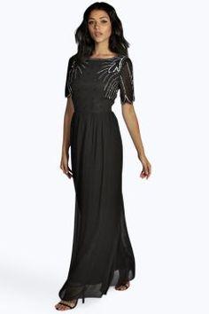 Leah Boutique Embellished Maxi Dress at boohoo.com