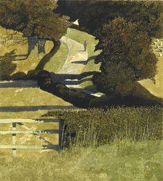 Simon Palmer (British, 1956-) > Cross-Country Road