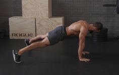 This plank jack complex will crush calories and carve your core