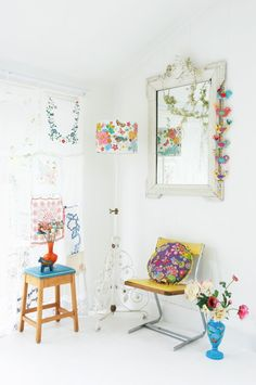 Sewing projects from All Sewn Up by Chloe Owens.  #Interiors #Decorate #LivingRoom