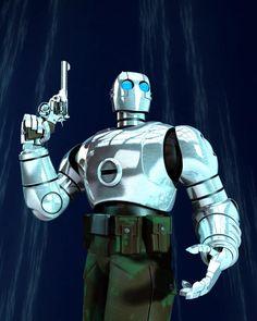 realistic Atomic Robo
