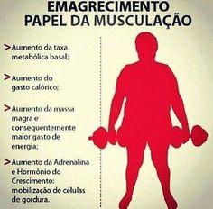 """ocê que deseja emagrecer e """"acha"""" que com a musculação não vai conseguir, está enganado.  A musculação também é uma ótima atividade para a perda de peso.  #emagrecimento #musculação #perturbacional"""