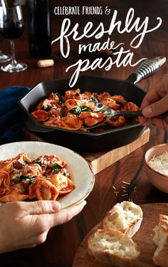 Friends + freshly made Buitoni pasta? Grabbing seconds is a given. Try this recipe for your next dinner party.