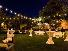 wedding reception The Vintage Estate-Napa Valley Weddings in Napa Valley Wedding Venues Yountville CA 94599 Wedding Reception Layout, Cocktail Wedding Reception, Wedding Night, Wedding Venues, Wedding Ideas, Cocktail Engagement Party, Outdoor Night Wedding, Backyard Engagement Parties, Elegant Backyard Wedding