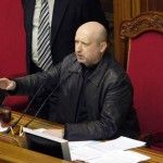 Ukrainian Parliament elects interim president