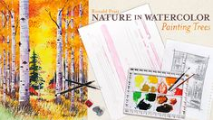 Learn essential watercolor techniques to paint spellbinding forest scenes with vibrant color, vivid form & expansive depth. - via @Craftsy
