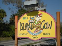 The Island Cow Restaurant - A must stop on Sanibel Island, Florida