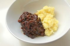 Autoimmune Paleo Cherry Bacon Short Ribs with Mashed Parsnips recipe on Food52