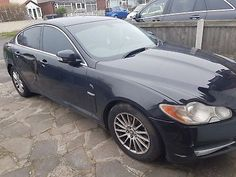 eBay: Jaguar XF Luxury 2.7 TDI runner Cat D body damage, works well, low mileage CHEAP #carparts #carrepair