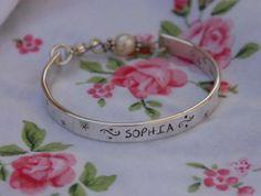 Baby bracelet from etsy