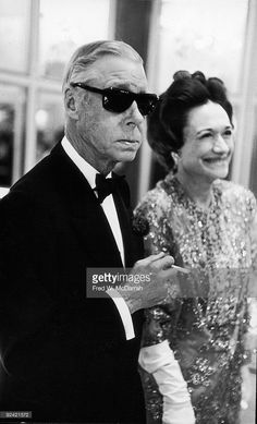 edward and wallis simpson attend the premiere party after a showing of the…