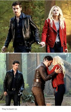Once Upon A Time Season Seven. That #CaptainSwan picture is so beautiful.