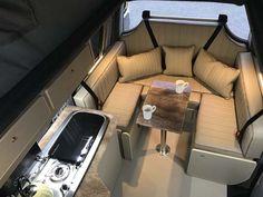 image4 Vw T5 Interior, Custom Van Interior, Motorhome Interior, Campervan Interior, Campervan Ideas, Interior Ideas, Campervan Conversions Layout, Van Conversion Layout, Minivan Camper Conversion