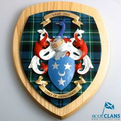 Coat of Arms Wall Pl
