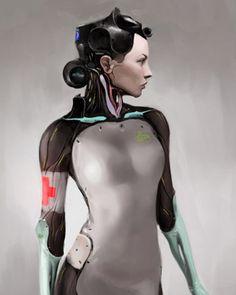 ELYSIUM Sex Robot Concept Art and More