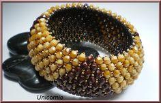 Unicornio, toupies #bangle #bracelet netting