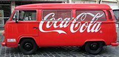 Coca Cola car.