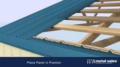 Classic Rib Steel Roof Panel in - The Home Depot Metal Sales 10 ft. Classic Rib Steel Roof Panel in - The Home Depot Steel Roof Panels, Metal Panels, Fence Panels, Roof Design, Fence Design, Metal Shed Roof, 20x40 House Plans, Patio Gazebo, Backyard